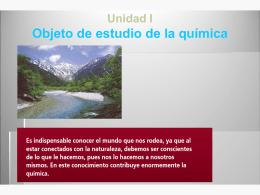 QUIMICA Y SU REL CON OTRAS CIENCIAS