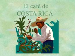 El café de COSTA RICA