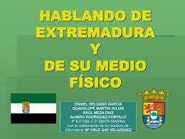 Extremadura y su medio físico