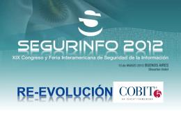 COBIT 5 y la Seguridad de la Información - Presentación de