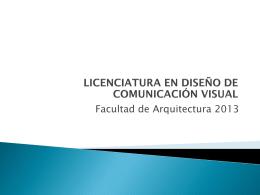 La EMPRESA o PRODUCTO - Facultad de Arquitectura