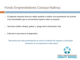 Ejemplo de Presentación electrónica del negocio y/o la