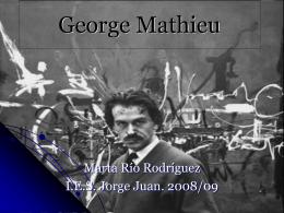 George Mathieu - IES JORGE JUAN / San Fernando