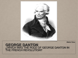 GEORGE DANTON - seksocialscience4