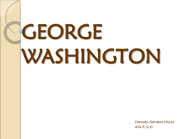 GEORGE WASHINGTON - Ciencias Soci@les