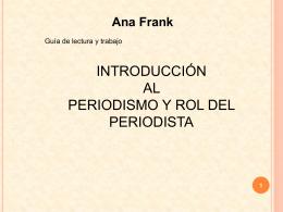 guia de ana frank
