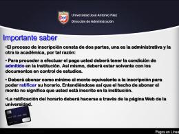 Pasos para Pago en Banco Web - Universidad José Antonio Páez
