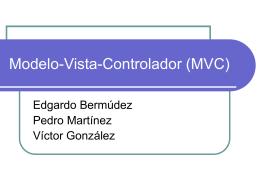 Modelo-Vista-Controlador (MVC)
