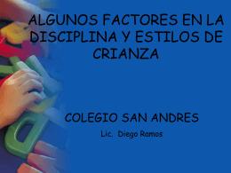 Disciplina en Casa - Colegio San Andrés