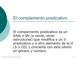 5.6. El CPredicativo