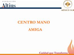 Centro mano amiga - Universidad Anáhuac México Sur