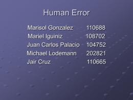 HumanErrorID