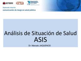 Los Análisis de Situación de Salud (ASIS)