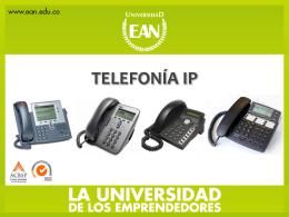 telefonía ip - Universidad EAN