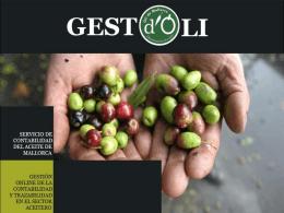 Consultar marcas de aceite - Gest-OLI