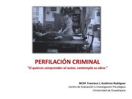 Perfilación Criminal 2009