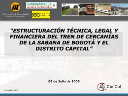 Tren de Cercanías 2008