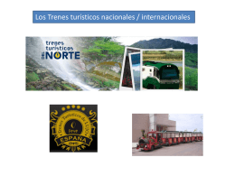 TRENES TURISTICOS MIGUEL-MANUEL