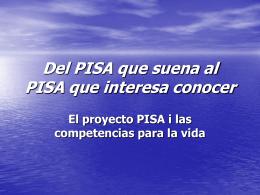 Del PISA que suena al PISA que interesa conocer