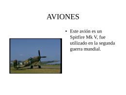 varios aviones