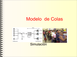 Modelo de Colas