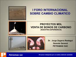 Peruanos trabajando por un medio ambiente saludable