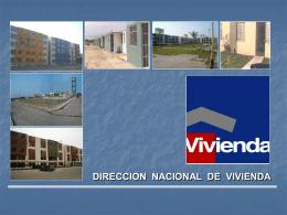 Diapositiva 1 - Ministerio de Vivienda, Construcción y Saneamiento