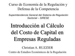 Introducción a las Finanzas y el Cálculo del Costo de Capital en