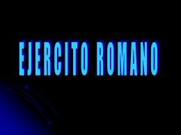 Ejercito-Romano