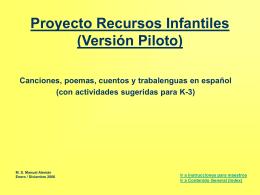 Proyecto Canciones Infantiles