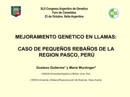 Gutiérrez Reynoso - Sociedad Argentina de Genética