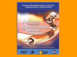 Manual_Que_hacer - MEP Dirección Regional de Educación de