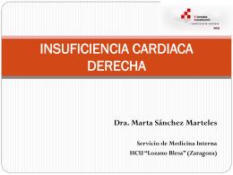 INSUFICIENCIA CARDIACA DERECHA - Jornadas de Actualizacion