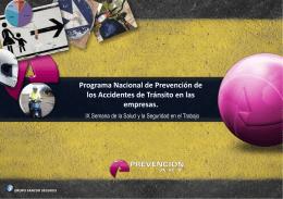 prevención - Superintendencia de Riesgos del Trabajo