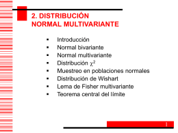 Distribucion Normal Multivariante