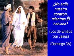 III Domingo de Pascua, Ciclo A. San Lucas 24, 13