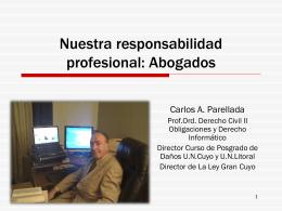 Responsabilidad profesional: Abogados y notarios