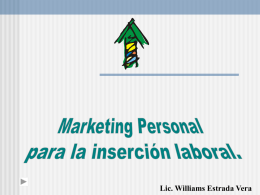 DESARROLLO Y MARKETING PERSONAL