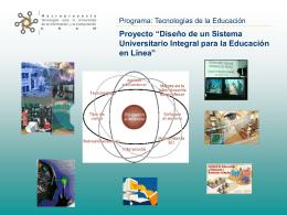 Sistema Integral para la Educación en Línea