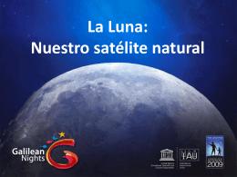La Luna - Año Internacional de la Astronomía 2009 en España