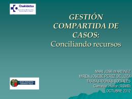 GESTION COMPARTIDA DE CASOS