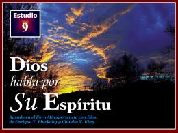 009 Dios habla por su Espiritu