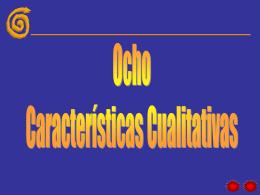 Ocho Caracteristicas--Principios bióticos