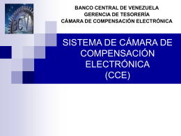 ¿Qué es la Cámara de Compensación Electrónica?