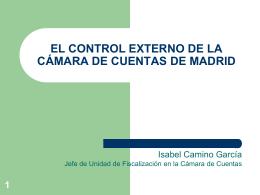 Control Externo Camara de Cuentas