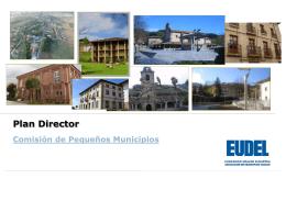 Plan Director de la Comisión de Pequeños Municipios