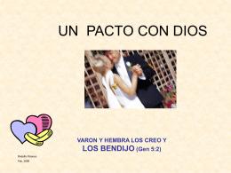 MATRIMONIO_Pacto_con_Dios