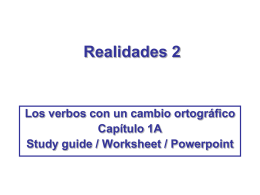 Realidades 2 - Teacher Blogs