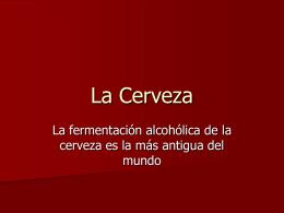 La Cerveza - UVG.IQ.2008