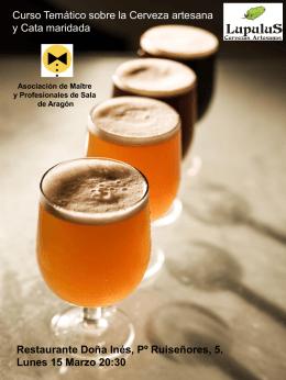 Curso Temático Cervezas artesanas